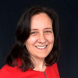 Porträttbild på Eva Sahlström
