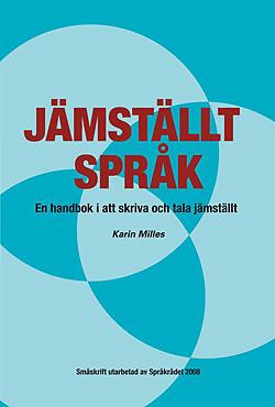 Omslag till boken Jämställt språk.