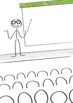 Mottagaranpassning är viktigt både när man gör en presentation och när man skriver en text.