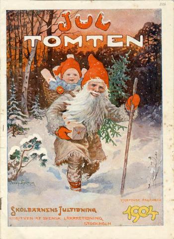Jultomte av Jenny Nyström